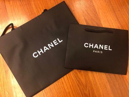 Chanel 紙袋 Paper Bag x 2