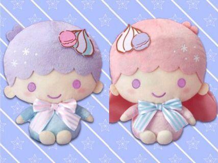 Little twin stars (馬卡龍Ver.) Kiki Lala 一套兩隻 抓樂霸 toreba 景品 (日本直送)