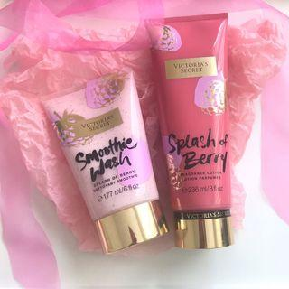 Victoria's Secret Body Care Products
