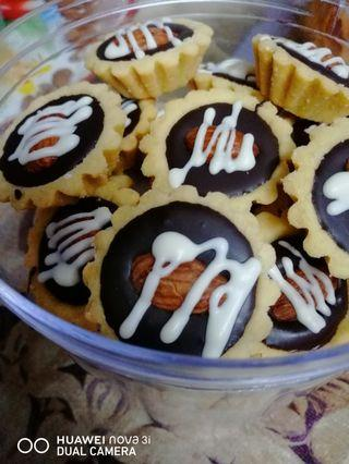 Almond Chocolate Tart