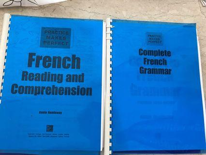 FRENCH learning books + CDs