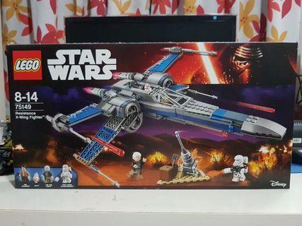 Lego Star Wars 75149 Resistance X-Wing MISB