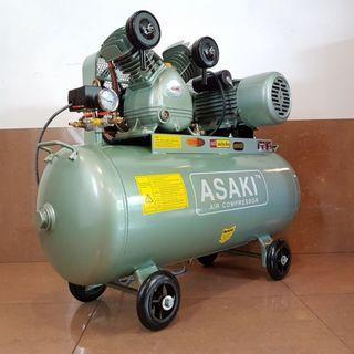 Asaki LC-88/25S Air Compressor 2hp 88litre 8bar 240v ID30931