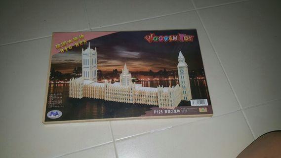 🚚 BNIP Wooden Toy - Big Ben