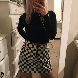 Urban Outfitters Checker Skirt