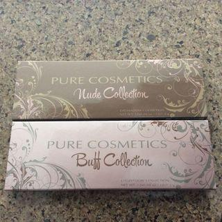 Pure Cosmetics Buff and Nude Collection Palettes #JuneHoliday30