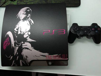 Playstation 3 Slim Final Fantasy XIII-2 Lightning Limited Edition Set