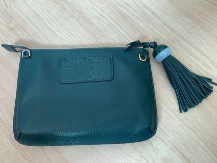 Tory Burch clutch with strap
