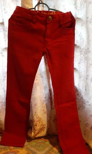 Red jeans (For kids age 11)