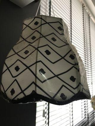 Lamp Shade Ikea Black White