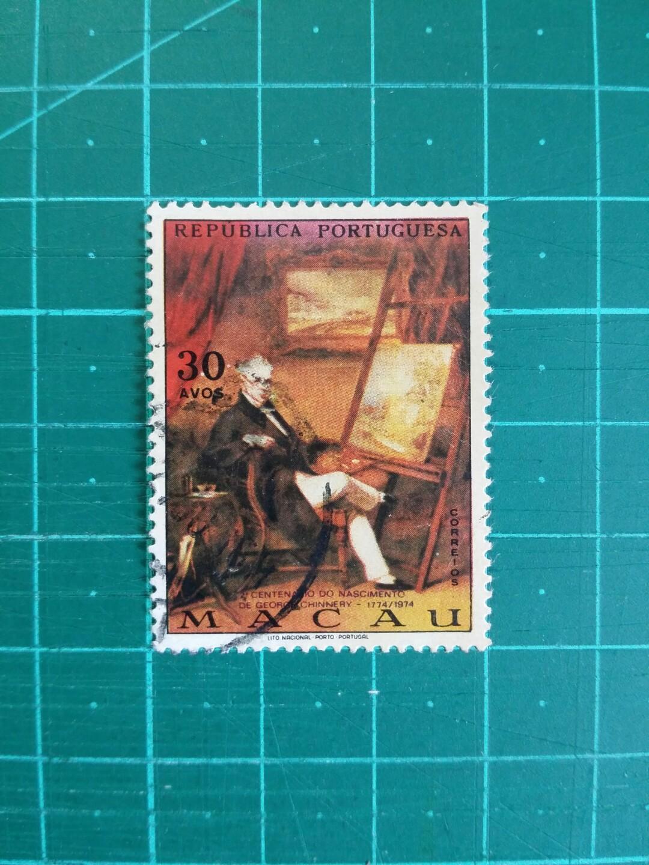 [均一價$10]1974 澳門 錢納利誕生二百週年紀念 舊票一套