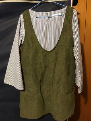 🚚 綠裙 (含上衣