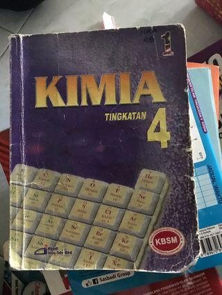 Chemistry form 4 textbook
