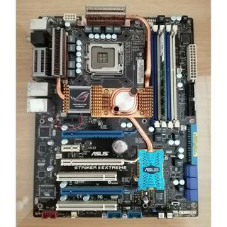 Motherboard ASUS Striker II Extreme + Supreme FXII Sound Card
