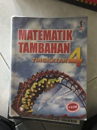 Buku teks addmaths f4
