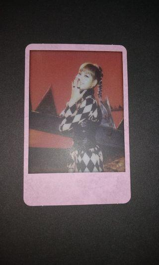KILL THIS LOVE polaroid