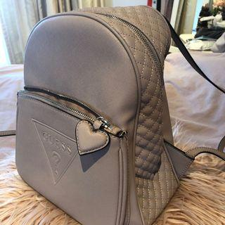 Guess backpack leather