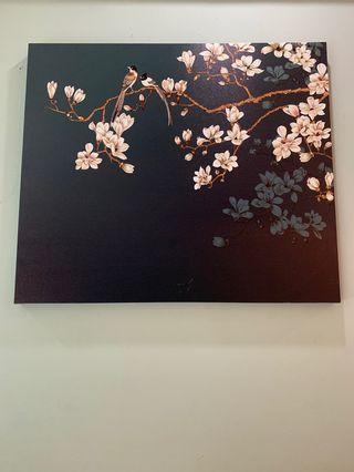 🚚 Oriental Wall Painting Art