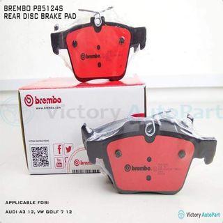 BREMBO REAR DISC BRAKE PAD P85124S
