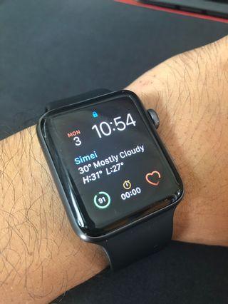 🚚 Apple Watch Series 3 - 42mm aluminium case