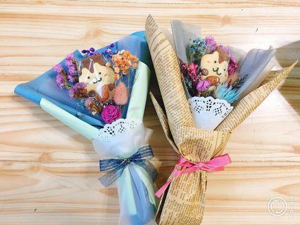 🚚 單隻松鼠花束 畢業花束💐 情人節禮物 生日禮物