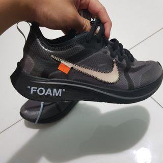 🚚 (US 7) Off White Black Zoom Fly StockX
