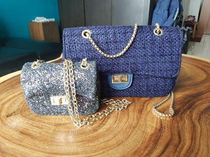 Mother and daughter handbag