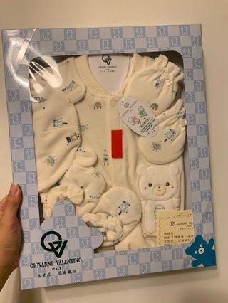范倫鐵諾新生兒兩用長袍禮盒