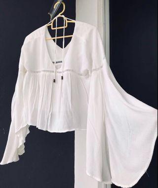 White Blouse Top #Ramadan75