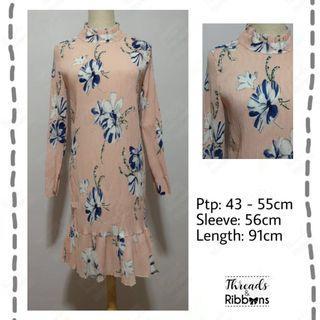 🚚 *Instock* Brand New Crinkled Straight Dress