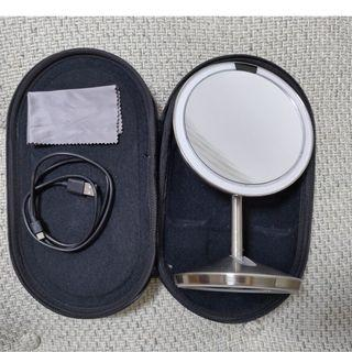 "Simple Human 鏡 sensor mirror mini 5"" round 10x magnification"