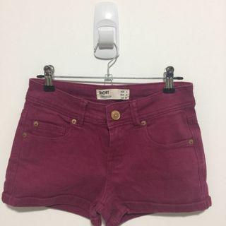 Cotton On Maroon Shorts