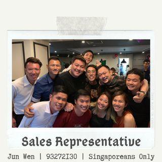 Events & Sales Representatives