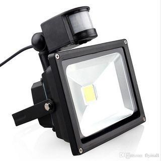 10W PIR Led Security Light, Daylight Motion Sensor Flood Light