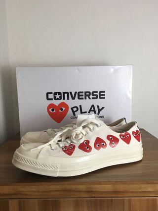 Ready New Converse CDG Play BNIB