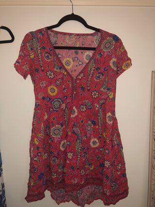 Spell lovebird mini dress