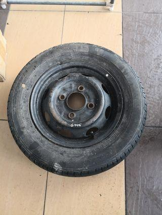 Spare tyre Kancil (PCD 110)12INC