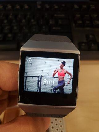 Fitbit Ionic smart watch with 3 straps (fitness tracker)