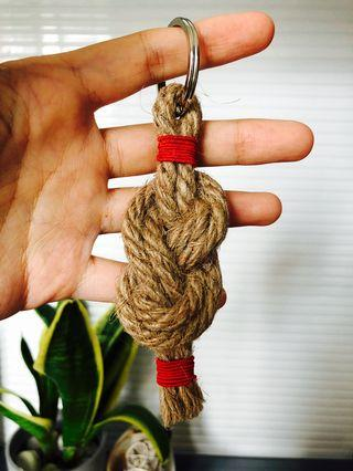 包郵*人手造麻繩鎖匙扣