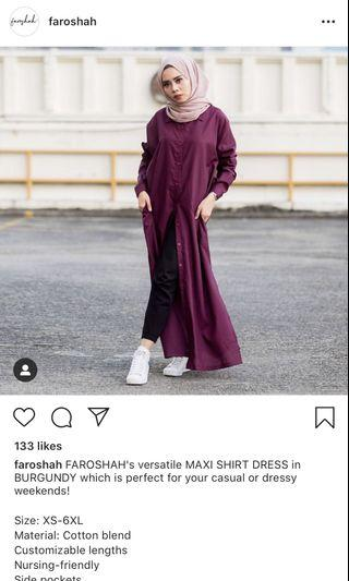Preoved Faroshah Long Shirt