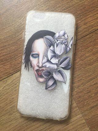 Iphone 6 / 6s case 電話殻 marilyn manson