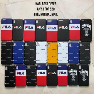 IPHONE XS MAX/XR/X/XS/7/8/7+/8+/6s/6s+ FILA CASE