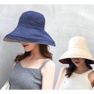 🚚 Free 🚚: Fashion Sun hat, full coverage and both side can wear. UV protection.
