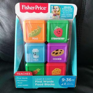 Fisher Price Toy First Words Good Blocks