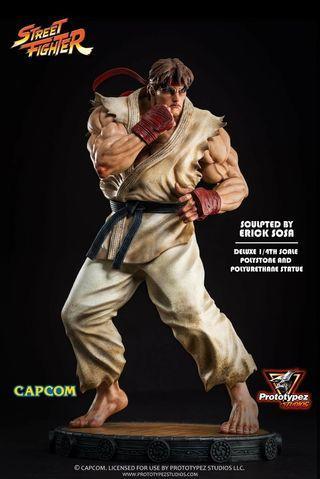 WTS PrototypeZ Studios 1/4 Scale Street Fighter Classic Ryu Statue