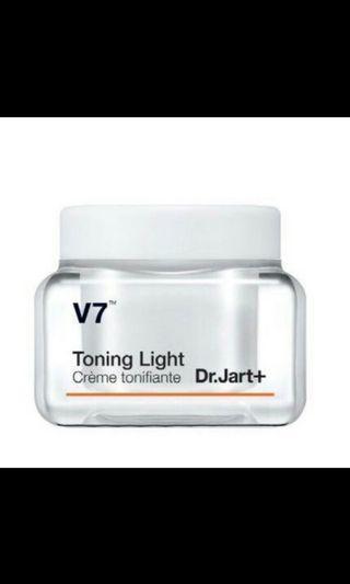 🚚 韓國🇰🇷Dr.Jart+ Toning Light V7 維他命肌光鑽白霜 美白素顏霜白霜強效美白肌膚🥰抗衰老
