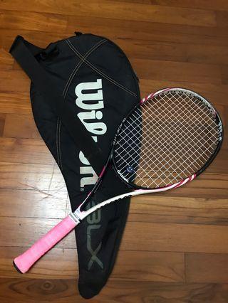 """Tennis Racket Wilson ladies 1/4"""" Grip"""