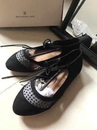Torrid 大碼 全新黑色尖頭鞋