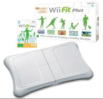 Wii Fit Plus Board and Disc