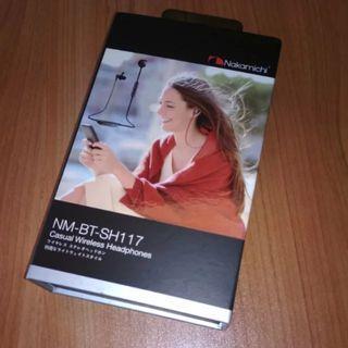 Nakamichi NM-BT-SH117 Bluetooth Headphones